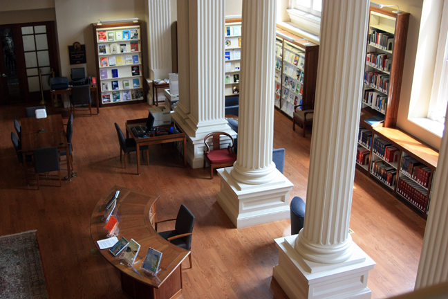 The Reading Room at CHF.