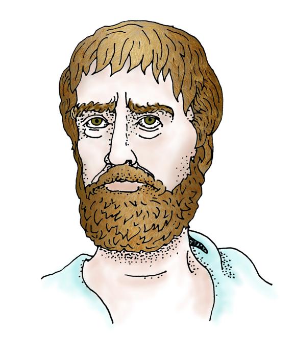 Thales of Miletus - illustration by David V. Black