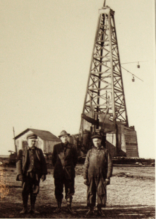 Photo from the Kansas Oil Museum