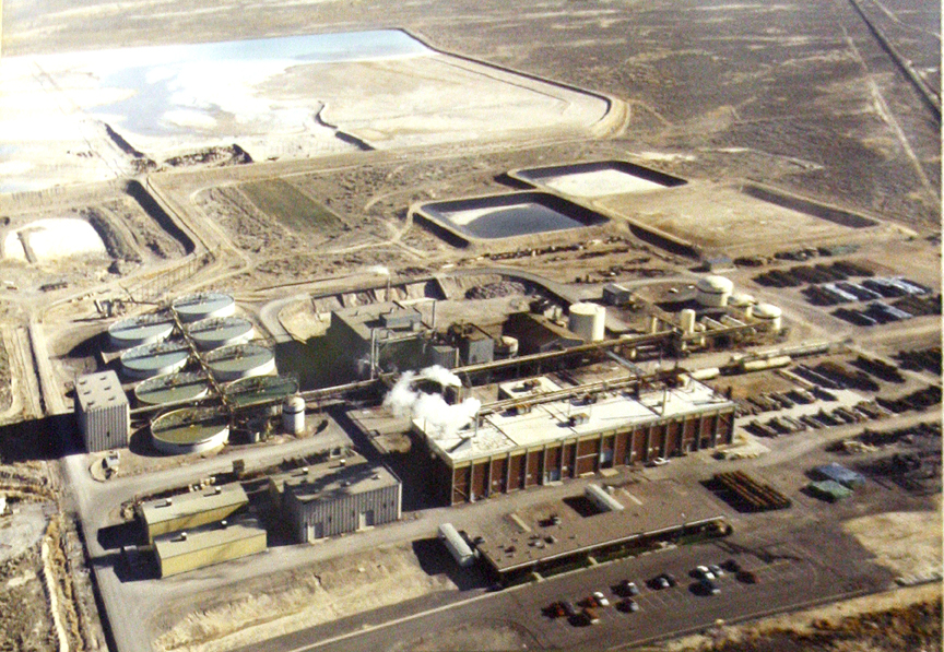 Delta concentration plant