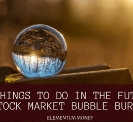 7 Things To Do When The Stock Bubble Bursts