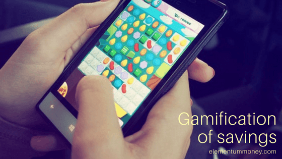 Gamification of Savings