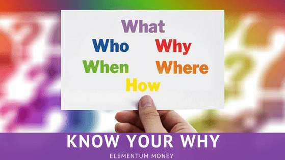 Know Your Why
