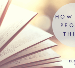 Book Club – How Rich People Think