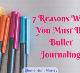 7 Reasons Why You Must Be Bullet Journaling