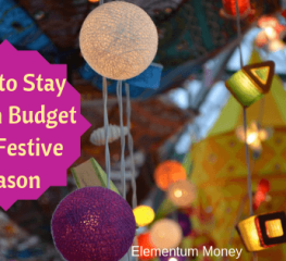 How To Stay Within Budget This Festive Season
