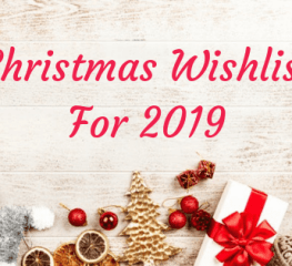 Christmas Wishlist for 2019
