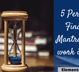 5 Personal Finance Mantras that work in Life