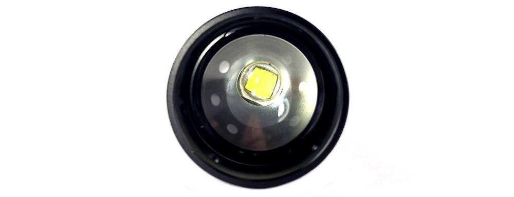 Sunwayman T25C LED szemből