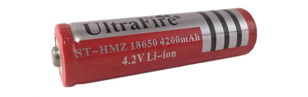 UltraFire 18650 4200mAh gagyi lítium-ion akkumulátor