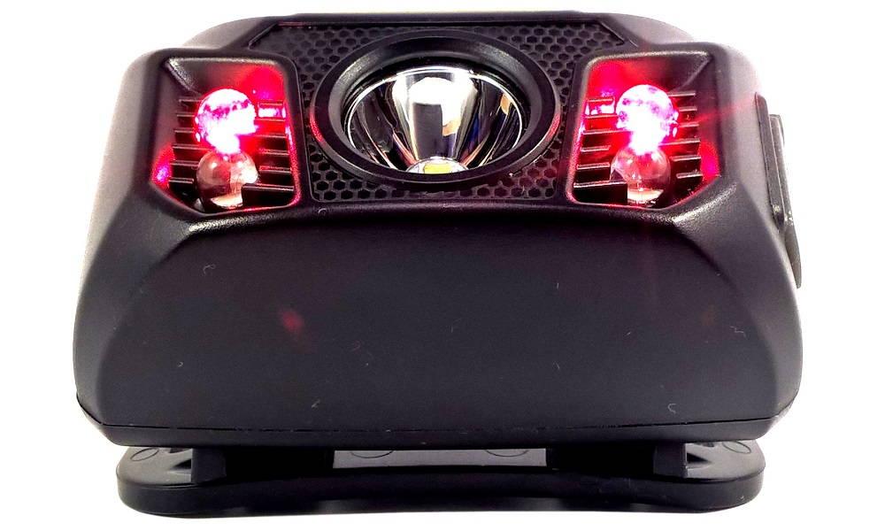 Nitecore NU30 vörös LED