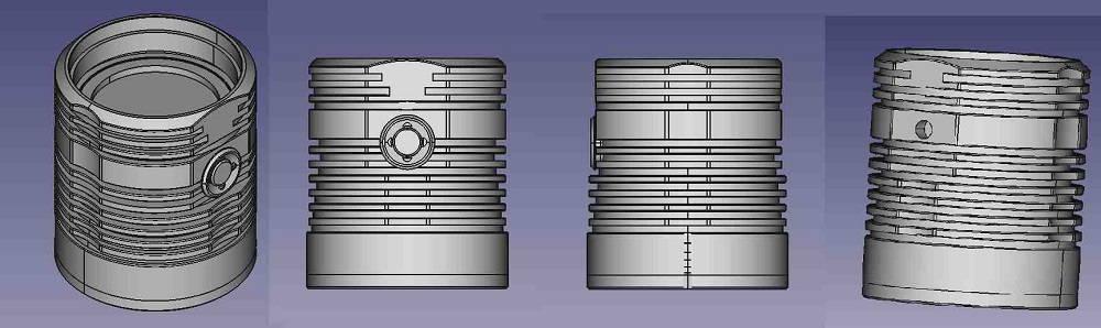 BLF Q8 CAD