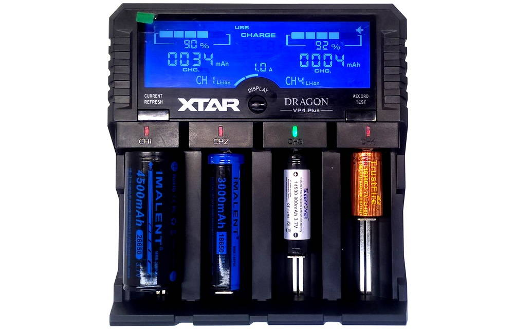 XTAR VP4 PLUS DRAGON akkukkal