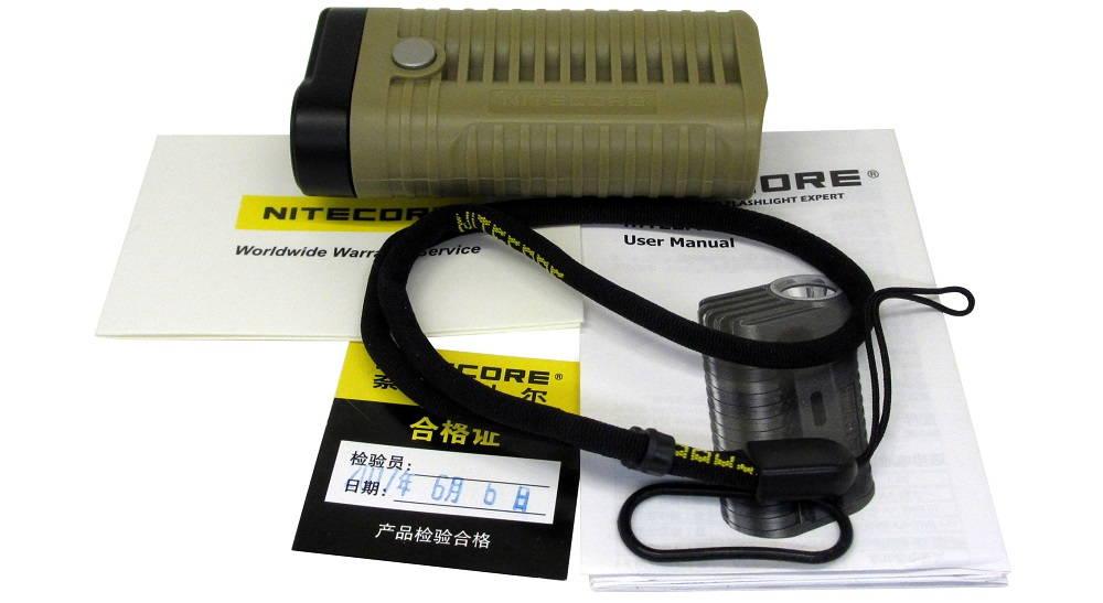 Nitecore MT22A tartozékok