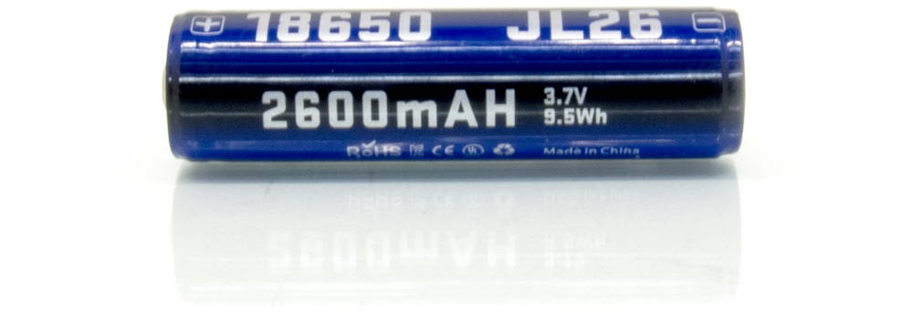 JETBeam E40R 18650 battery