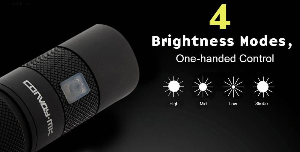Convoy S9 brightness banner