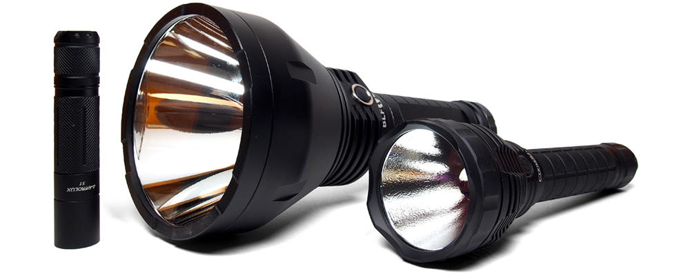 Lumintop BLF GT lámpákkal