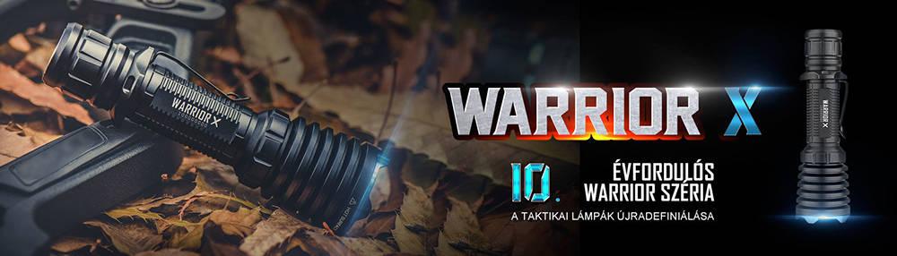 Olight Warrior X 10. évforduló banner