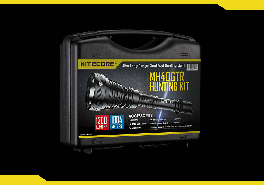 Nitecore MH40GTR hunting kit cover