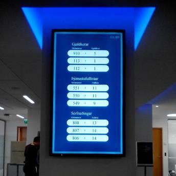 Weird bank queuing system