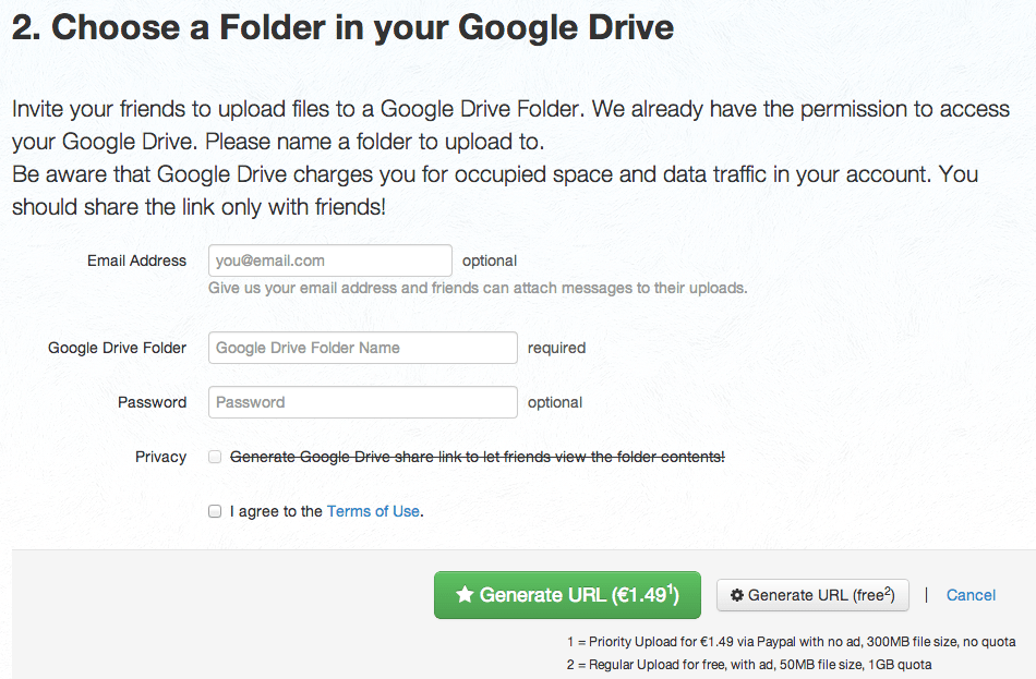 Allow others to upload to your Google Drive without a Google Account! (3/5)