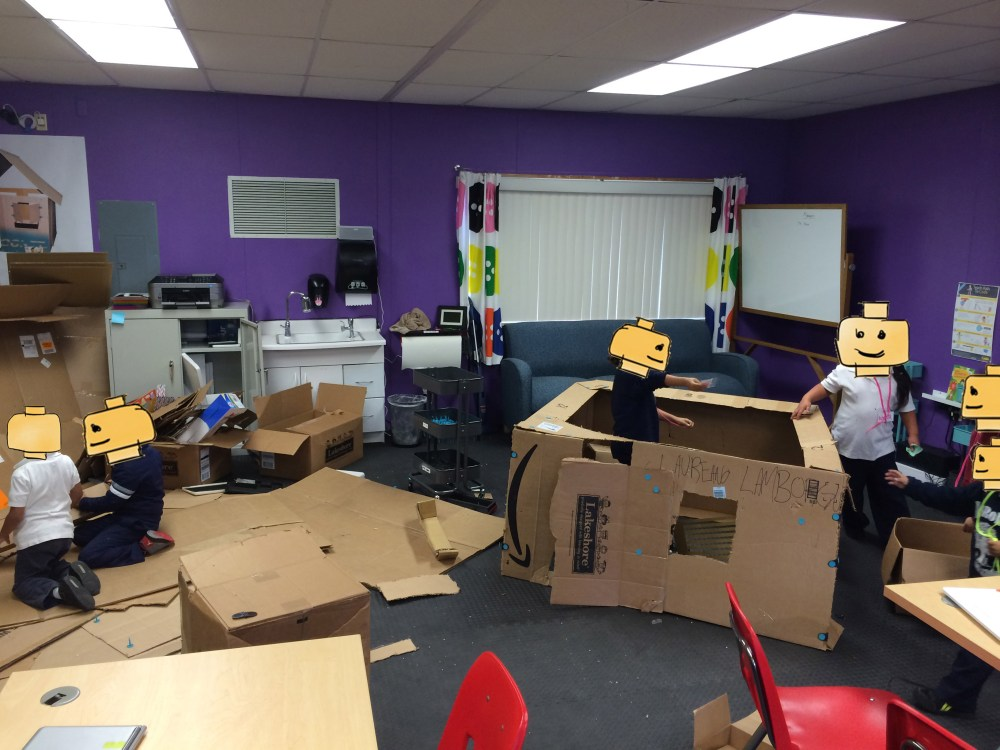 Making a Makerspace: Creating Self-Sustaining Recess/Lunch-Time Visits (2/6)