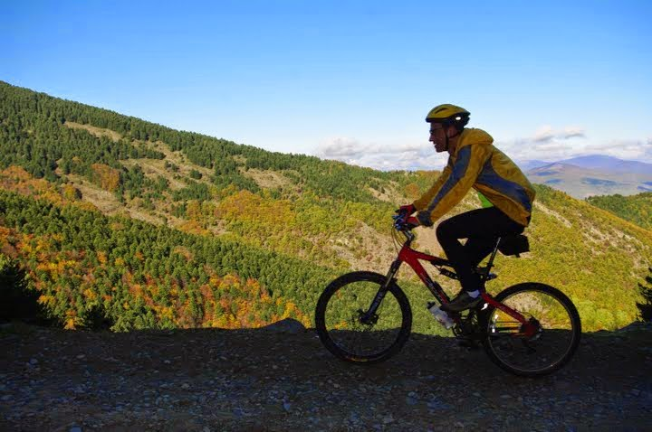 Cycling on Pelister – photo gallery