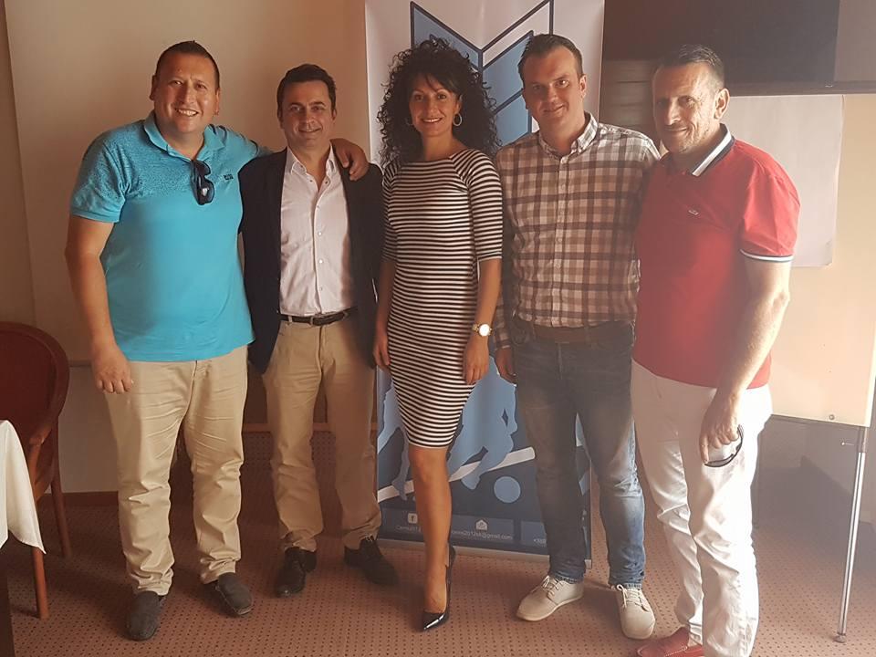 """Успешен втор ден од тематската конференција """"Спортот не прави горди и обединети – Хотел """"Молика """", Пелистер, 09.06.2018 година"""