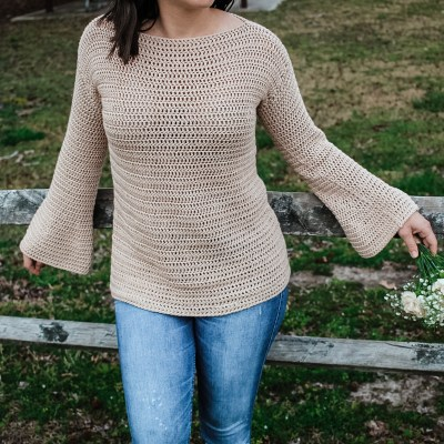 The Daisy Crochet Top
