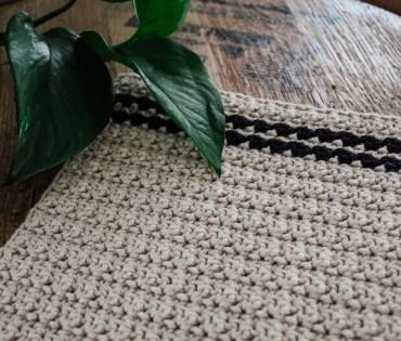 The Cobblestone Crochet Dishcloth 3