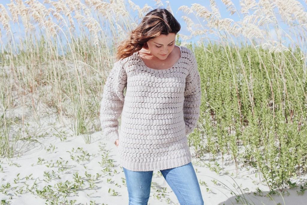 The Aspen Crochet Sweater Free Pattern