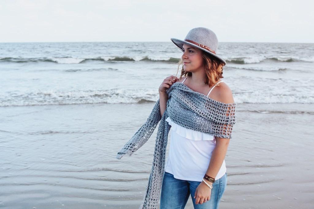 The Stevie Crochet wrap pattern