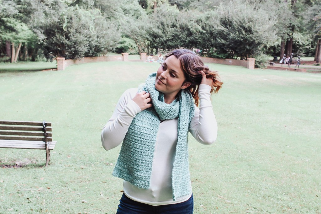 The water crochet scarf2