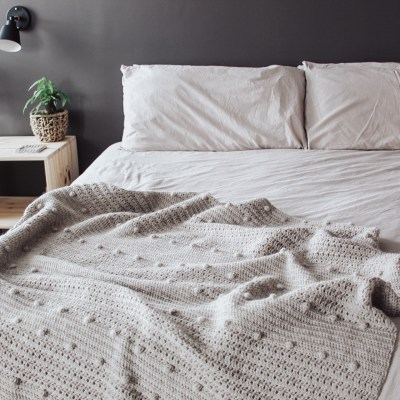 The Pebble Crochet Blanket