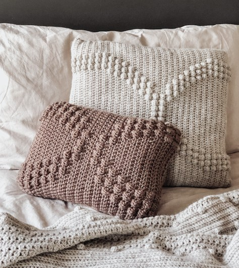 The Arches Crochet Pillow Pattern