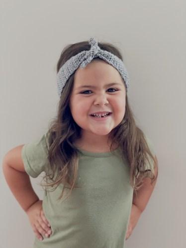 The Ivy Crochet Headband Kids