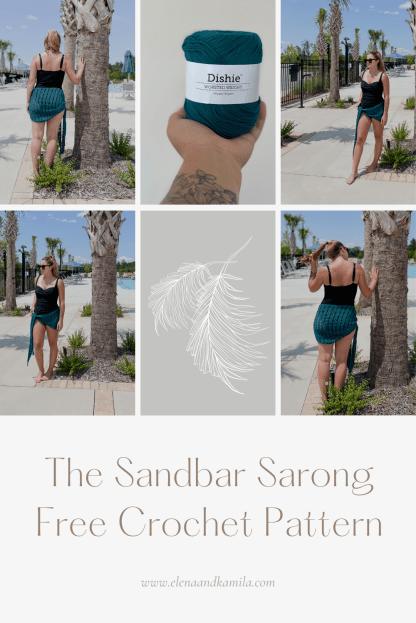The Sandbar Sarong Pin