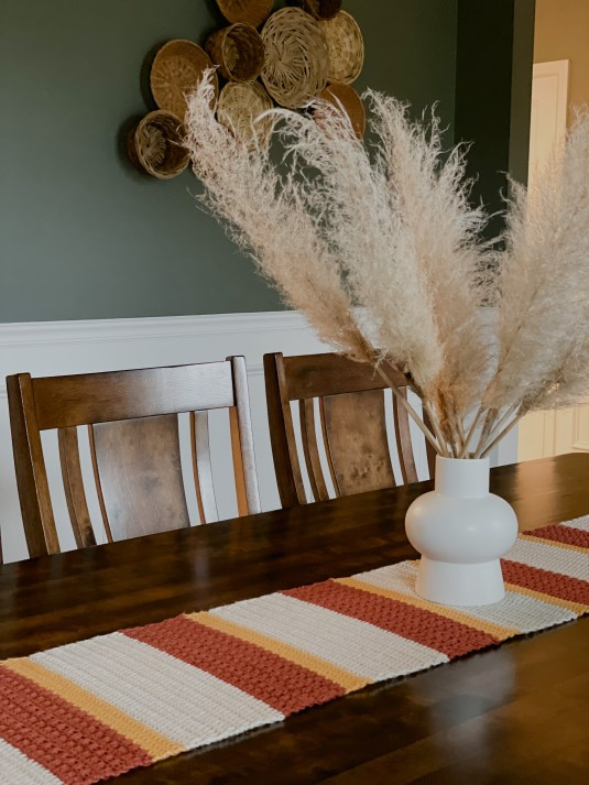 The Gather Table Runner crochet pattern