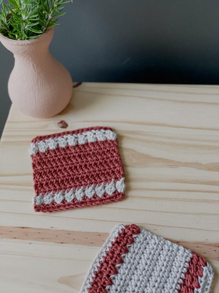 The Maple Crochet Coasters