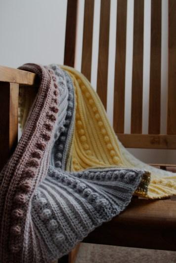 The Emma Crochet Baby bLanket