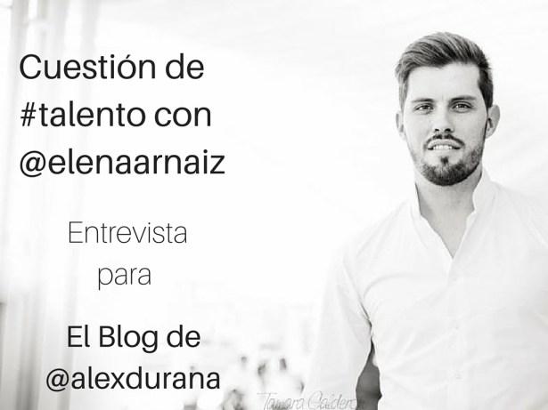 Elena Arnaiz Alex Duran Recursos Humanos