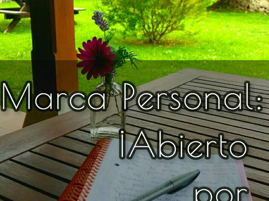 Marca Personal: ¡abierto por vacaciones!