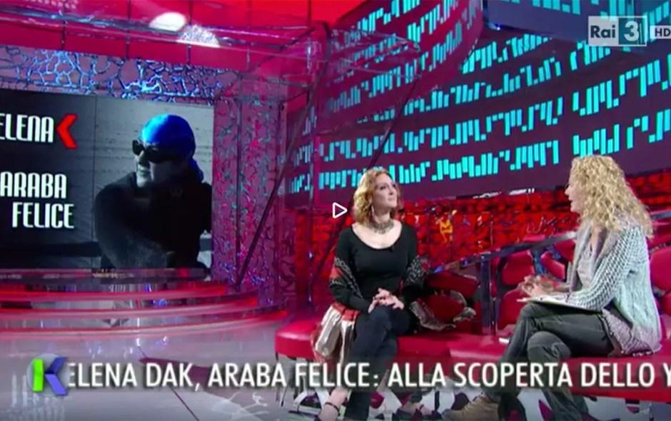 Elena Dak, araba felice