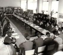 Vizita lui Nicolae Ceausescu la Institutul de Fizica Atomica (mai 1970)