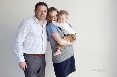 Семейная съемка беременности
