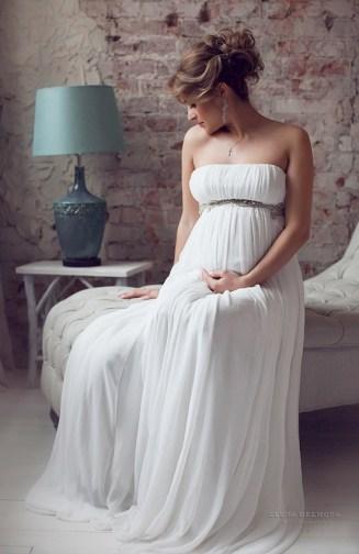 Фотосъёмка беременной в студии