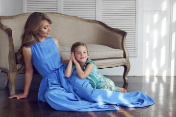 Семейная фотосессия в платьях