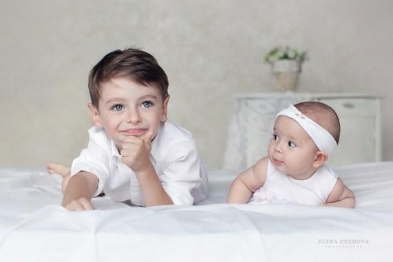 Съемка детей разного возраста