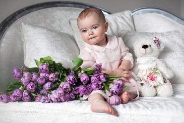 Фото малыша на дому