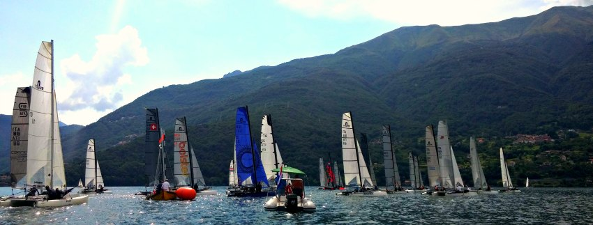 Nacra wordl in Dervio